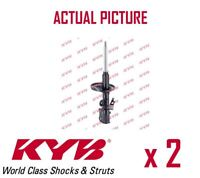 2 x FRONT AXLE SHOCK ABSORBERS PAIR STRUTS SHOCKERS KYB OE QUALITY 334094