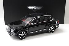 1:18 Kyosho Bentley Bentayga 2015 onyx black SP NEW bei PREMIUM-MODELCARS