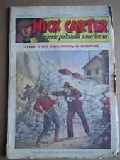 Nick Carter Il Grande poliziotto americano Anni 40 n°47 ed. NERBINI  [G369]