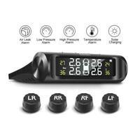 Solar TPMS Car Tyre Pressure Monitoring System & 4 Wireless External Sensors x 1