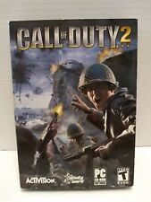 Call of Duty 2 - PC CD-Rom Computer game + case