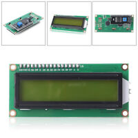 IIC/I2C/TWI/SP​I Serial Interface1602 16X2 Character LCD Module Display Yellow