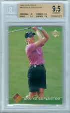 2003 UPPER DECK ANNIKA SORENSTAM ROOKIE CARD # 48 BGS 9.5 GEM MINT