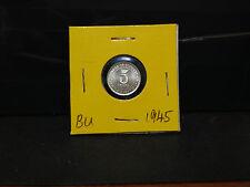 5sen--1945--young king--silver coin--bu