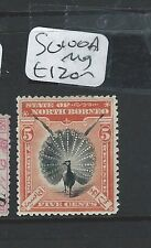 NORTH BORNEO (B0910)  5C  BIRD  SG 100A  MOG