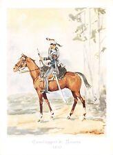 4866) CODROIPO (UDINE),CAVALLERIA, LANCIERI DI NOVARA, UNIFORME DEL 1850