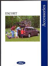 Ford Escort Accessories 1994 UK Market Sales Brochure