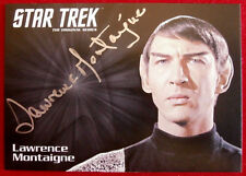 Star Trek Tos 50th, Lawrence Montaigne as Stonn, Limited Edition Autograph Card