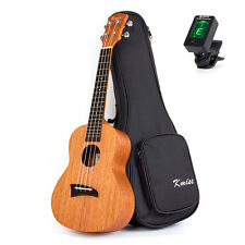 Tenor Ukulele 26 Inch Ukelele Hawaii Guitar String Instrument Matt W/Bag Tuner