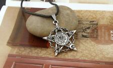 Masonic Symbols Knights Templar Skull & Bones Freemason Pendant Necklace