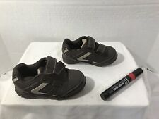 Buster Brown Toddler Sz 7 Hook and Loop Velcro Shoes #A145 Great Conditi