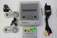 Nintendo Super Famicom Console & Dragon Ball Z 3 SFC SNES Japan Import K1306M