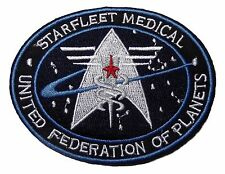Star Trek United Federation of Planets Starfleet Medical Shield Patch