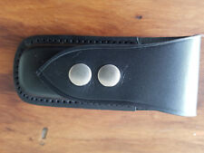 OCTARGON LEATHER MULTI TOOL POUCH--OCT BH2S--suits Leatherman