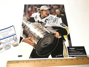 Sidney Crosby Autographed Signed Pittsburgh Penguins Large 11x14 Photo WITH COA