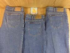 RIDERS Relaxed Fit DENIM JEANS LOT OF 3 Size 42x30 MEDIUM BLUE