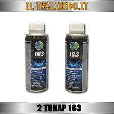 2 Tunap 183 additivo iniettori pompa Diesel pulizia carburatore depositi