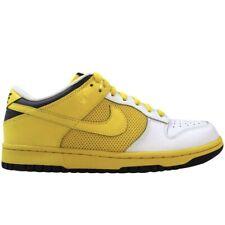 2008 W Nike Dunk Low Lakers Size 6 / 7.5W - White Trail Yellow VTG SB 317813 171
