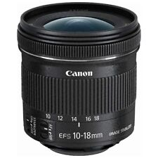 Canon EF-S10-18mm F4.5-5.6 IS STM Wide Zoom Lens Japan Domestic Version New