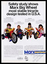 1973 Marx Big Wheel Deluxe Mini Wheel Sport Wheel Little Wheel photo vintage ad