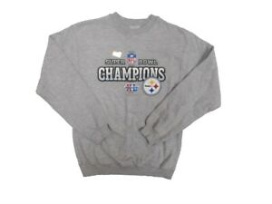 NFL Pittsburgh Steelers Youth Super Bowl XL Champions Long Sleeve Sweater