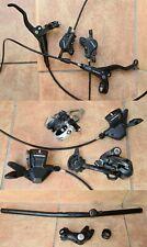 Fahrrad-Teile Set: Shimano Deore Schaltung, Shimano Scheibenbremse u.a.