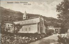Novaretto - Chiesa Parrocchiale - Caprie Torino - Cartolina Viaggiata 1933