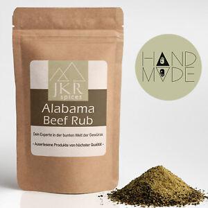 250g Alabama Beef Rub BBQ Spice Rub Barbecue Rub Grillmarinade Grillgewürz