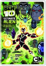 Ben 10: Ultimate Alien - The Return of Heatblast (DVD 2 disc) NEW sold as is