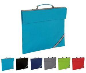 Boys Girls School Book Bag College Small Laptop Briefcase Reflective Strip Bags