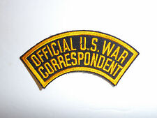 c0106 WW 2 Official US War Correspondent Tab R10C