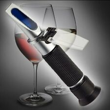 ALCOHOL REFRACTOMETER 0-80% BIER SEKT BORREL SCHNAPS R01
