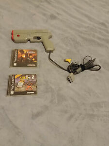 USED Namco Guncon Lightgun Time Crisis Bundle for PS1/PSX/Playstation 1 + Area51