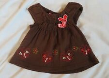 toddler baby girl 12 month summer butterfly brown shirt