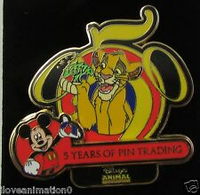 Disney 5 Years of Pin Trading Collection Simba Lion King Pin **
