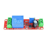 Lot 12V DC Conduction Delay Relay Shield Module NE555 Timer Switch 0-10 Sec