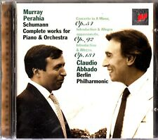 SCHUMANN - Complete Works For Piano & Orchestra CD ABBADO/BPO/MURRAY PERAHIA
