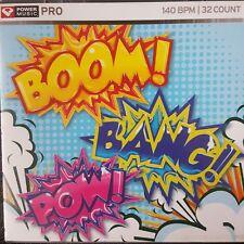 Power Music PRO CD Boom! Bang! Pow! 140 BPM