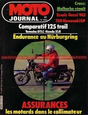 MOTO JOURNAL  561 YAMAHA DTLC 125 XLR HONDA GUZZI V65 KAWASAKI GT 750 CAGIVA 500