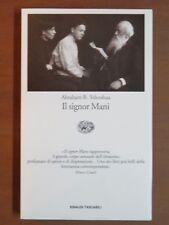 IL SIGNOR MANI Romanzo in cinque dialoghi Abraham B Yehoshua Einaudi Tascabili