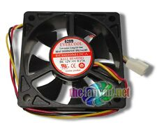 New Evercool 60mm x 20mm 12 Volt 3 pin Ball Bearing Case/CPU Fan EC6020M12CA
