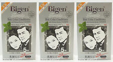 hoyu 美源髮采 Bigen Speedy Hair Color Conditioner Dye - Natural Black #881 x 3pcs