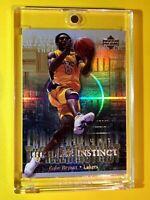 Kobe Bryant REFRACTOR THRILLER INSTINCT UPPER DECK HARDCOURT INSERT #TI8 - Mint!