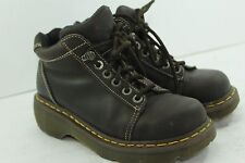 DR MARTENS WOMEN'S SIZE 8  BROWNS IN GREAT CONDITION