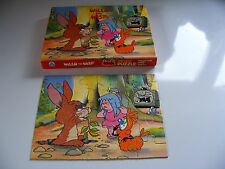 "Vintage   1983    Willo  The  Wisp    Puzzle    25   Large   Pieces   9 ""  x  7"""