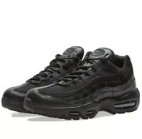 Nike Air Max '95 311524 055 Triple Black Size 2Y  New With Box No Lid