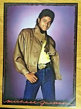 Original Near Mint 1983 Classic Michael Jackson Poster:  - Leather - 28x20""