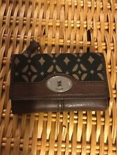Fossil Tri Fold Wallet Womans