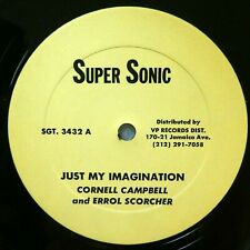 """CORNELL CAMPBELL 12"""" Just My Imagination / Young Love REGGAE #2534"""