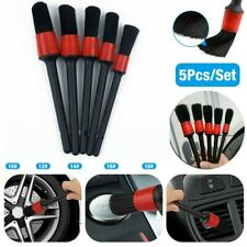 New Listing5Pcs Detailing Brush Dry/Wet Cleaning Brushes Soft Car Care Supplies Detail Tool